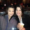 Ming-Na Wen and Cobie Smulders Hanging Out - 1 MQ