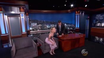 EMMA ROBERTS - Jimmy Kimmel Live 05,06,14