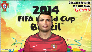 Download PES 2014 Cristiano Ronaldo Face By DzGeNiO