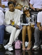 Rihanna - At The Miami Heat NBA Playoff Game 5/8/14