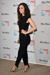 Emmy Rossum - The Whitney Art Party sponsored by Max Mara in NYC 5/8/14