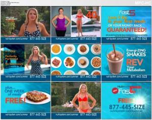 Melissa Joan Hart BIKINI - nutrisystem commercial 2014