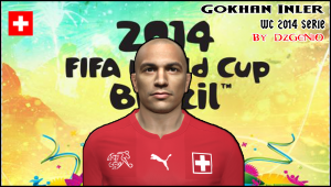 Download PES 2014 Gökhan Inler Face By DzGeNiO
