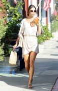 Alessandra Ambrosio - Out & About in Brentwood 5/13/14