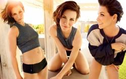 Evangeline Lilly, Jennifer Lawrence, Kristen Bel, Diane Kruger, Sylvie van der Vaart, Teresa Palmer (Wallpaper) 6x