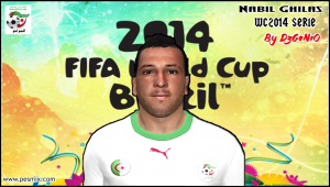 Download PES 2014 Nabil Ghilas Face By DzGeNiO