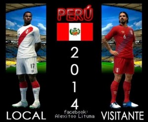 Download PES 2013 Peru 2014 Kits by Alexitoo Lituma