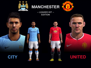 Download ManCity and ManUnited 14-15 Kits (pa)