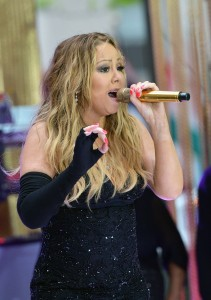 Mariah Carey Performs On NBCs Today, May 16, 2014