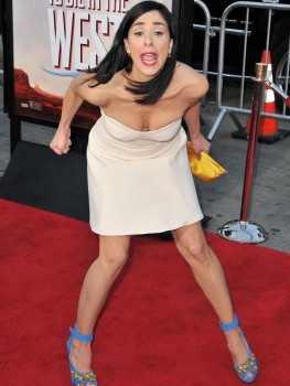 Sarah Silverman - A Million Ways To Die In The West premiere in LA 05/15/2014