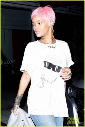 Rihanna - Leaving Mastros in Beverly Hills 5/19/14