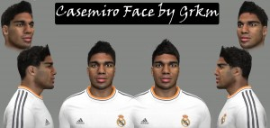 Download PES 2014 Casemiro Face by Grkm