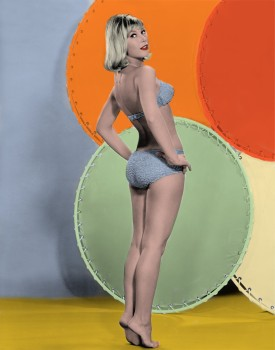 Barbara Eden - 3 Pictures - Colored by me:)