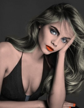 Cara Delevingne - 2 Pictures - Colored by me:)