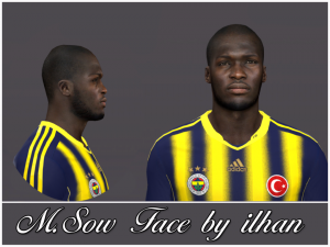 Download Moussa Sow Face by ilhan