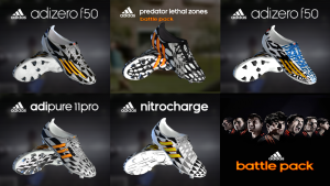 Download PES 2013 Adidas Battle Pack Boots by WENS