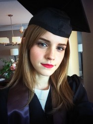 Emma Watson is Ready For Graduation - 5/25/14