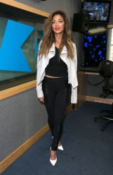 Nicole Scherzinger - Kiss FM Studio's in London 5/29/14