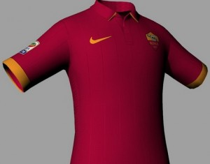 FIFA 14 AS Roma 14-15 Home kit by Tonce