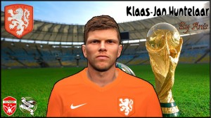PES 2014 Klaas-Jan Huntelaar (WC Faces) by Anis