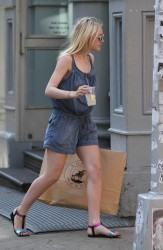 Dakota Fanning - HQ pics Out in NYC 06-02-14 showing of those milky hot thighs