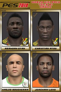 Download World Mini Pack Vol. 6 For PES 2014 by Hawke