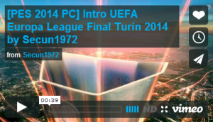 Intro UEFA Europa League Final Turín 2014 by Secun1972