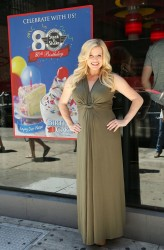 Megan Hilty - Steak 'n Shake Celebrates 80th Birthday Event in NYC 6/7/14