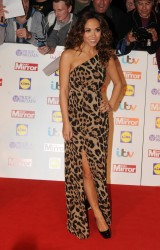 Myleene Klass in leopard dress @ 2013 Pride of Britain Awards