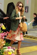 Jessica Alba - Shopping at Whole Foods in Culver City 6/8/14