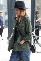 Jessica Alba - Out & About in NYC 6/11/14