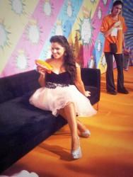 Isabella Castillo slimed at Kids Choice Awards Argentina 2013