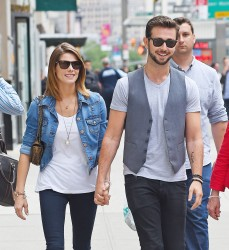 Ashley Greene strolling through NYC June 11,