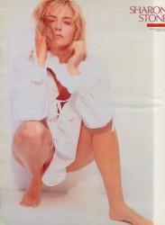 Sharon Stone: Very Sexy Pose: 80's - HQ x 1