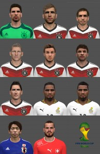 PES 2014 Facepack by michi1860