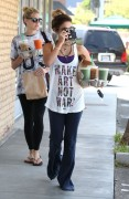 Vanessa Hudgens - Leaving Starbucks in Studio City 6/14/14