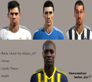 Download PES 2013 Facepack by baha_dır