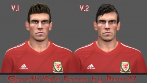 Download Gareth Bale Face (with 2 hair) by amir27