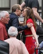 Dakota Johnson at the 'Black Mass' movie set - 10/06/2014