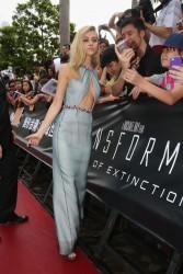 Nicola Peltz - 'Transformers: Age of Extinction' Screening in Hong Kong 6/19/14