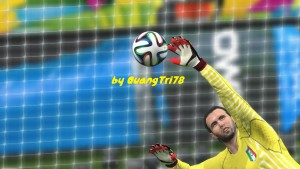 PES2014 WC2014 Official Adidas Predator Gloves