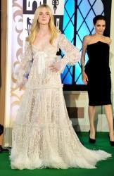 """Elle Fanning - """"Maleficent"""" Premiere in Tokyo 6/23/14"""