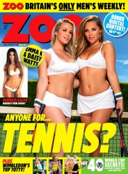 Zoo Magazine - Anyone for Tennis? (June 2014)
