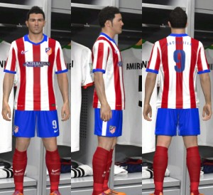 Download Atletico Madrid 14-15 Home Kit By MOHAMMAD 78