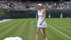 Maria Sharapova - Wimbledon Championships - 6.24.14 - Upskirts