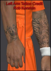 Download Memphis Depay Tattoo Add-On by Hawke