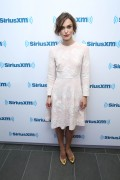 Keira Knightley - at SiriusXM Studios in NYC - 06/26/14