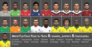 Download World Cup Face Pack by Stels & shamrik_gunners & Kairzhanov