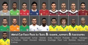 Download World Cup Face Pack by Stels & shamrik_gunners & Kairzhanov