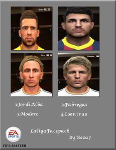 Download PES 2014 La Liga Face Pack By Reza 7